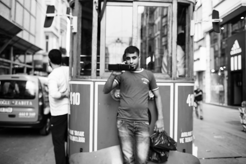 Fare dodging, Istanbul (Turkey)