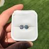 4.08ctw Old European Cut Diamond Pair, GIA I VS2, I SI1 48