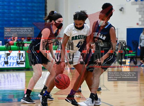 Colgan @ Forest Park Girls JV Basketball 1-29-21
