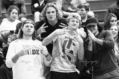 Basketball Student section 2016-17