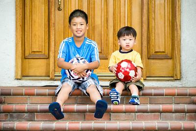 Kids in Front Yard:  July 20, 2014