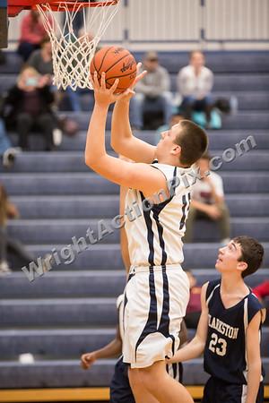 2017 01 25 Clarkston 8th Grade Basketball Blue vs Gold