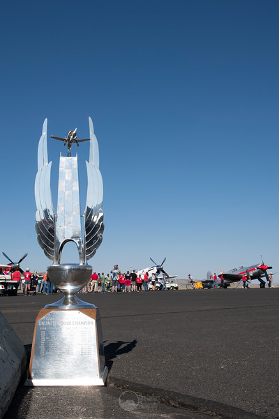 National Champtionship Air Races Unlimited Class Gold Trophy