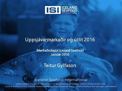 Uppsjávarmarkaðir og útlit 2016