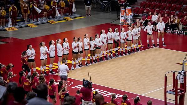 ISU Volleyball vs Drake 08/27/21