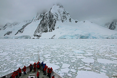 Zodiac - Zooming Over Downunder Icy Antarctic Continent on the Silver Explorer