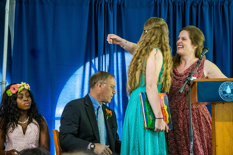 Scene from NCS graduation/commencement week 2019. photo by Nancie Battaglia
