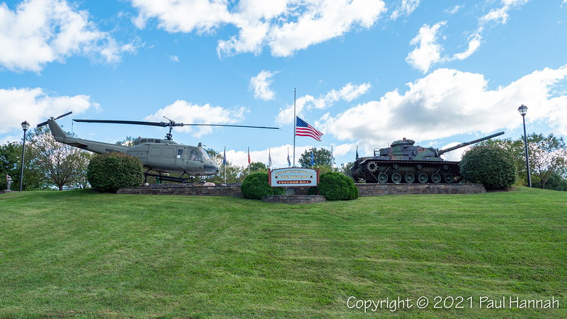 Freedom Hill, VFW Post 8495 - Fairport, NY - M60A3 + UH-1