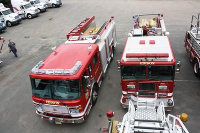 NJMFPA Meeting / Photo Shoot held at Campbell Supply Fire Apparatus 9-25-11