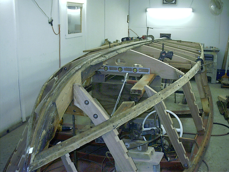 repaired stem rebuilding last bottom frame