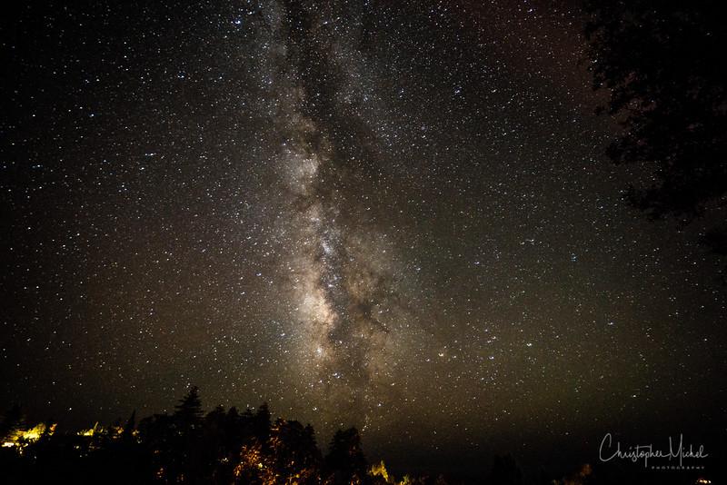 The dark skies of Big Sur.