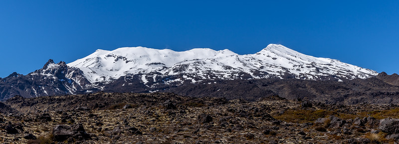 Skigebiet beim Mount Ruapehu
