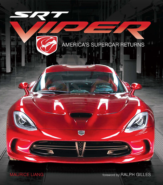 SRT Viper book.  Written and photographed by Maurice Liang.
