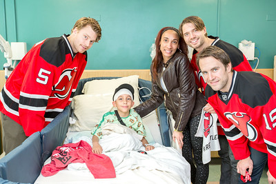 2015 NJ Devils Visit Holy Name Medical Center