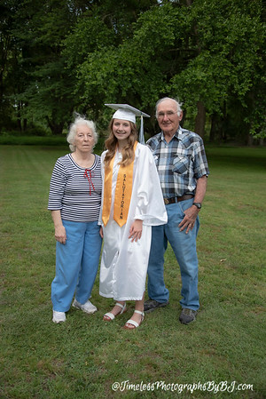 2020 Autumn Foote 8th Grade Graduation