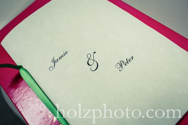 Jamie & Peter Creative Wedding Photos