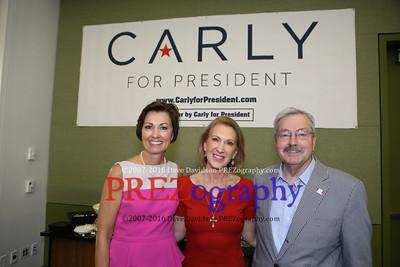 Carly Fiorina reception 5-16-15