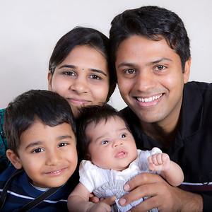Aditi with family