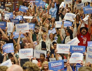 Senator Bernie Sanders speaks at the University 0f Denver - 6/20/15