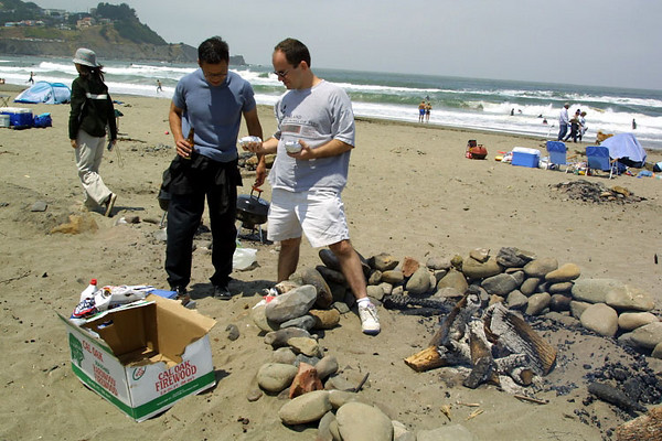 Fourth of July BBQ in Pacifica