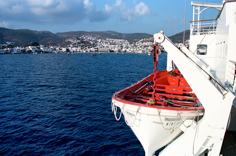 Bodrum, Turkey from a Windstar cruise sail ship