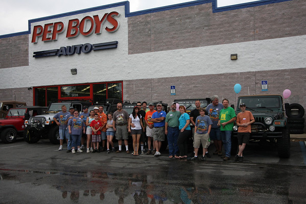 Ocala Jeep Club & Pep Boys Benefit for March of Dimes