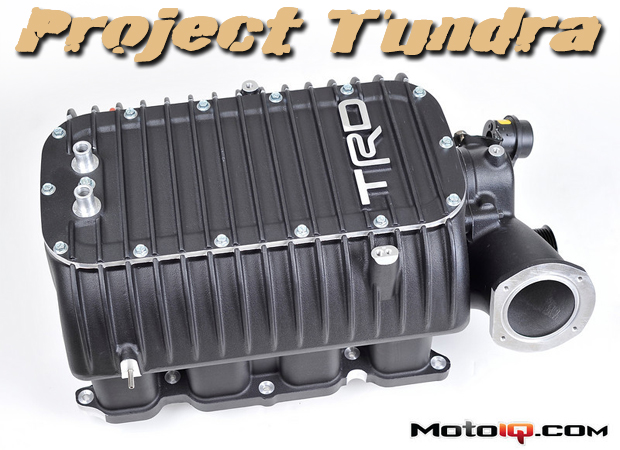 Project Toyota Tundra- Installing the TRD Supercharger Part 1