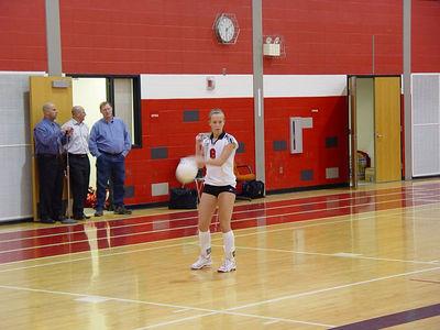 Girls Junior Varsity Volleyball - 2005-2006 - 1/19/2006 vs. Chippewa Hills