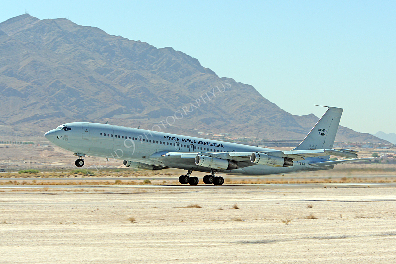 KC-137FORG 00003 Boeing KC-137 Stratotanker Brazilian Air Force 2404 Nellis AFB by Peter J Mancus.JPG