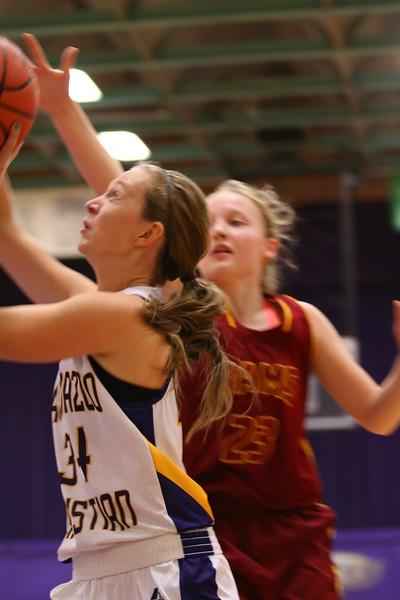 Girls Basketball vs. Galesburg - 12/08/15 - KCHS