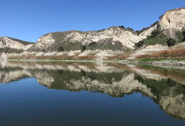 Lake Cachuma with Kathy and Michael