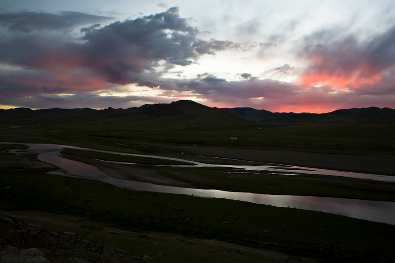 Monkhe Tingri camp. Mongolia