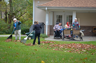 Fall clean-up at IA 2012