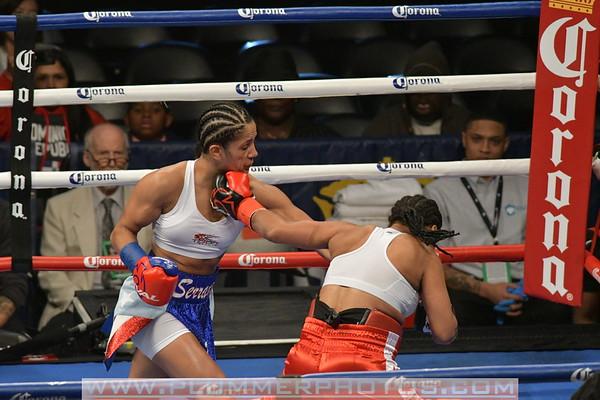 Amanda Serrano Defeats Marilyn Hernandez by 1st Round TKO