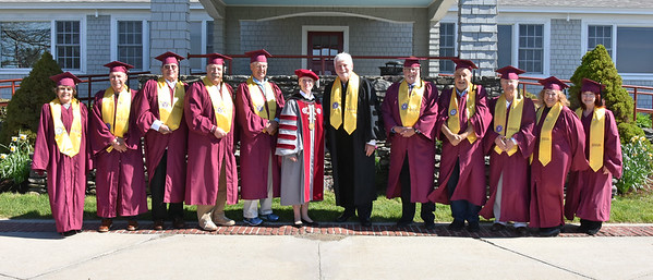 Class of 1969 at 2019 Commencement 5-18-19