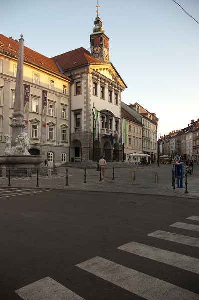 Evening and Night in Ljubljana