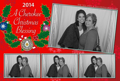 Cherokee Christmas Downstairs Booth