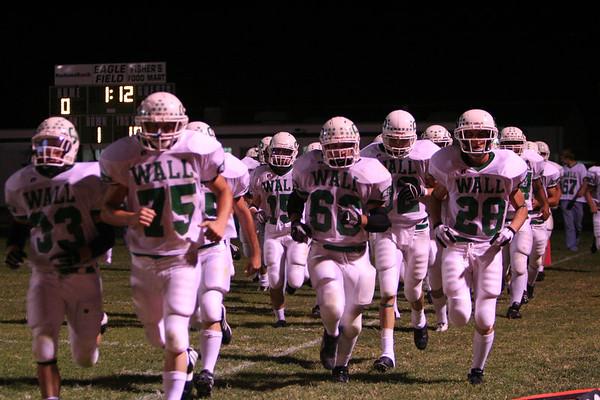 Varsity Football, Band & Cheerleaders @ Grape Creek