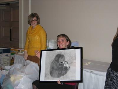 Sheridan & Kylee's Baby Shower - January 9, 2005