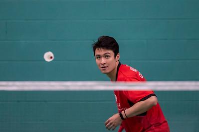 Mandarin Badminton Club - Peter Briggs, Joshua B Hurlburt-Yu