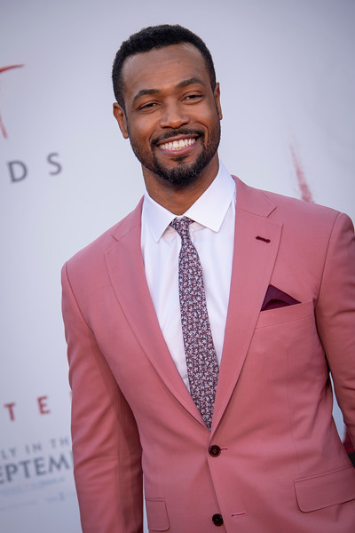 """WESTWOOD, CA - AUGUST 26: Isaiah Mustafa attends the Premiere Of Warner Bros. Pictures' """"It Chapter Two"""" at Regency Village Theatre on Monday, August 26, 2019 in Westwood, California. (Photo by Tom Sorensen/Moovieboy Pictures)"""