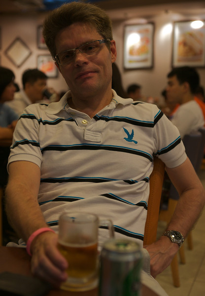 At Black Canyon restaurant, Suvarnabhumi airport.