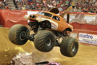 10-05-13 Well Fargo Center-Monster Jam