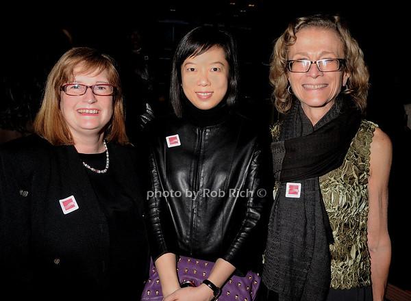 Margaret Tao, Yi Fawn Lee, Dessa Godeart Bonhams photo by Rob Rich © 2010 robwayne1@aol.com 516-676-3939