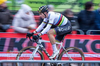 UCI Zolder World Cup cyclocross Elite Mens Race