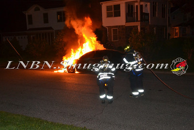 Wantagh F.D. Car Fire Stratford Rd c/s Wantagh Avenue 7/3/2012