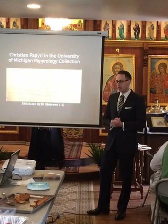 Dr. Brendon Haug's Lecture