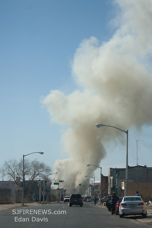 03-06-2012, 2nd Alarm Building, Camden City, Camden County, Broadway and Kaighn Ave.