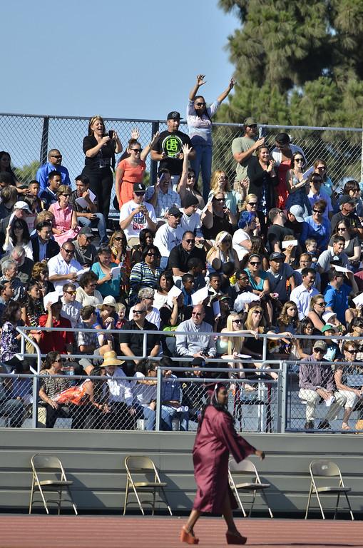 . Torrance High School Commencement Ceremony 2013 Zamperini Stadium.  Photo by Brad Graverson 6-19-13