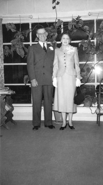 Floyd and Elna Turner's Wedding 1953